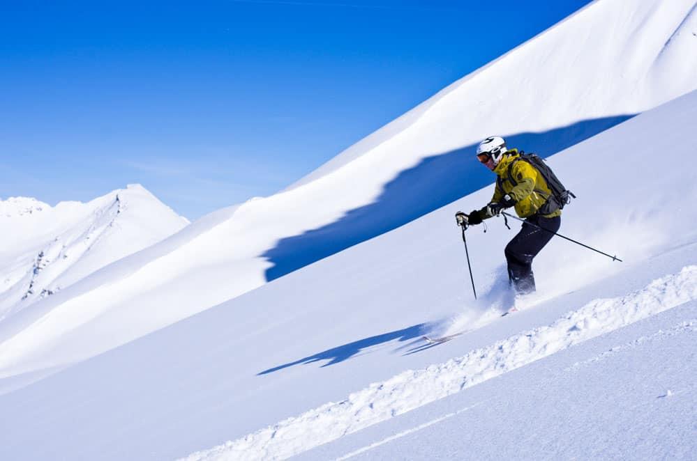 heli skiing St. Anton