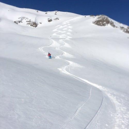ski tourig St. Anton